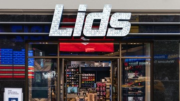 Lids stores hosting a holiday hiring event on Thursday