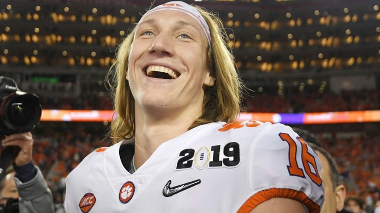 WATCH: Trevor Lawrence enjoyed 'awesome' White House dinner, hints at more national titles