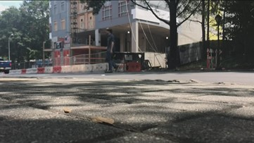 'This could be a death trap' | Pedestrian safety concerns arise near Midtown construction site