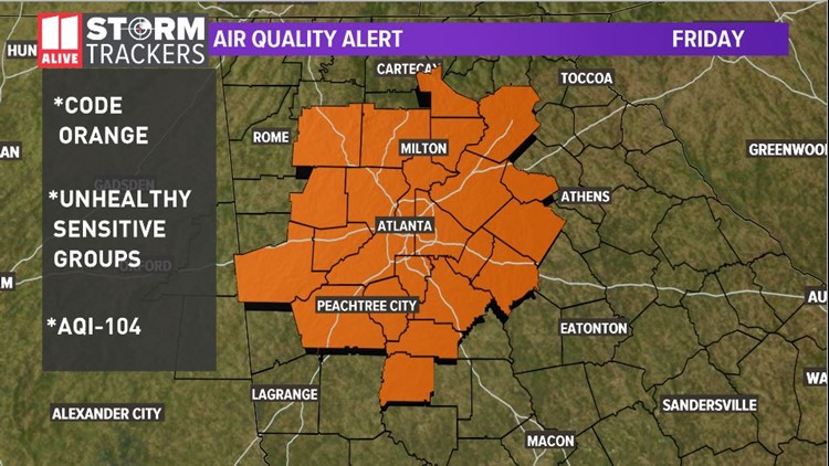 Friday Smog Alert