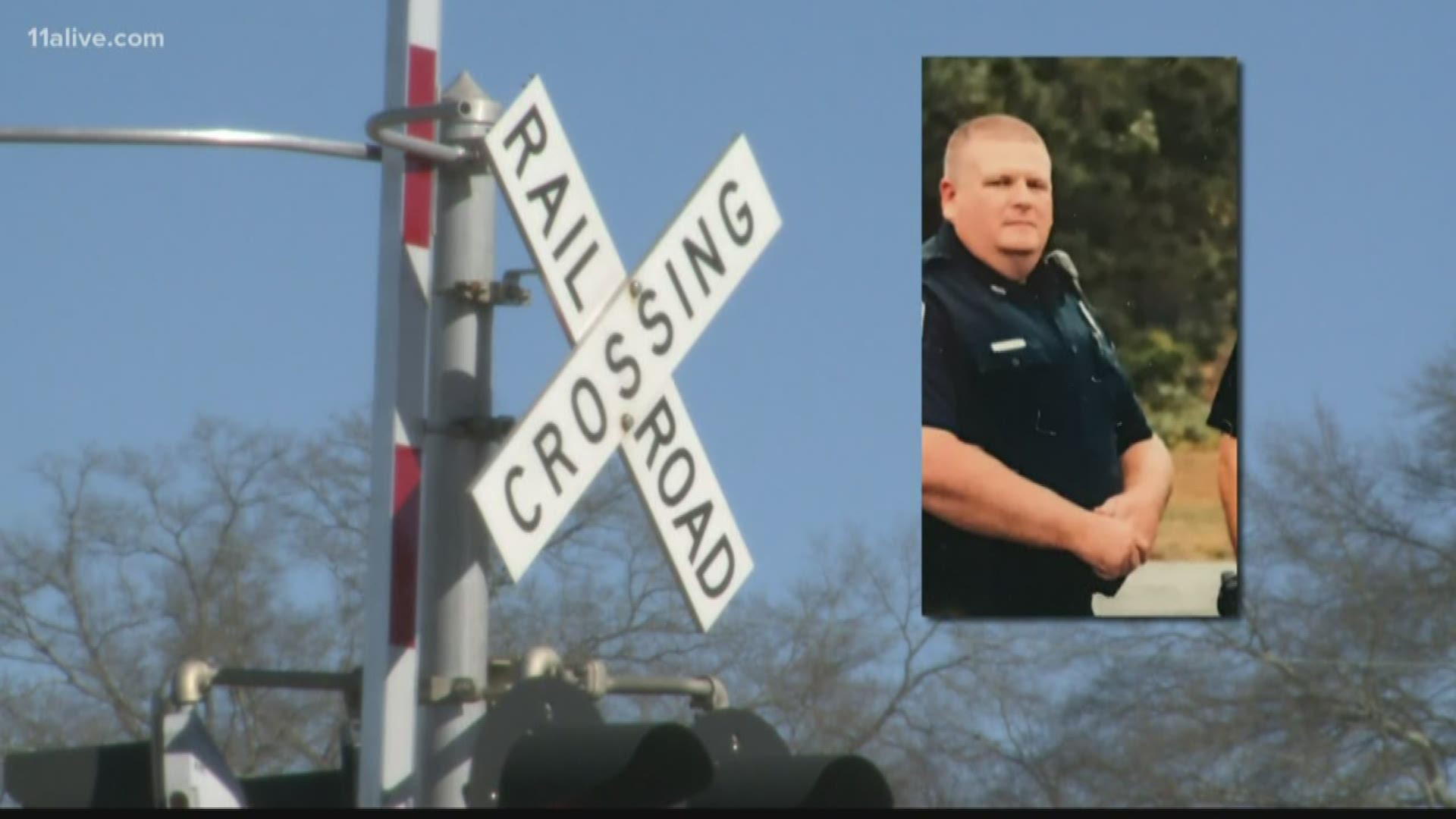 Georgia Officer Recovering After Being Hit By Train During Chase