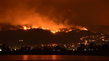 Oscar winner's home burns in California wildfires after move to Atlanta