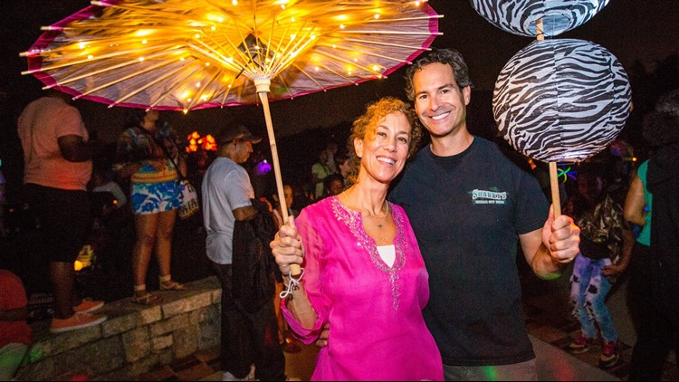Sandy Springs will light up the night and the water during the  3rd Annual Lantern Parade  on Saturday, April 21.