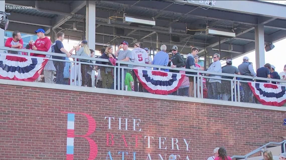 Braves fans traveling far for NLCS Game 6