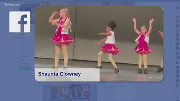 Little girl has all the moves on the dance floor