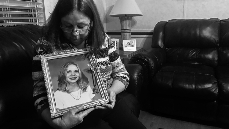 Becky Nix has mourned her daughter's death every day for the past 18 years. (Jessica Noll / WXIA)