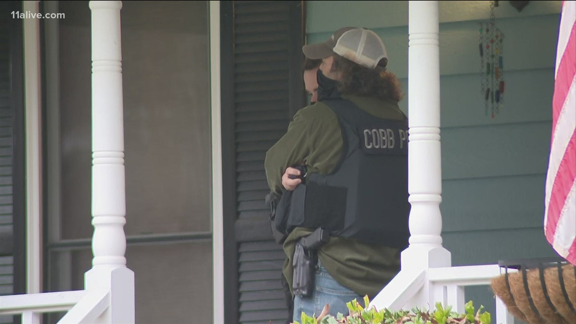 1 arrested after explosive materials found inside Cobb County home