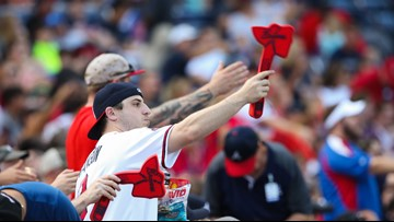 Braves agree to reduce Tomahawk Chop during game after Cardinals pitcher calls it 'insulting'