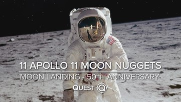 Apollo 11 moon landing facts you may not know
