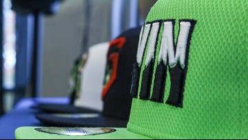 Stripers are hoping their new uniforms 'Gwin' with fans