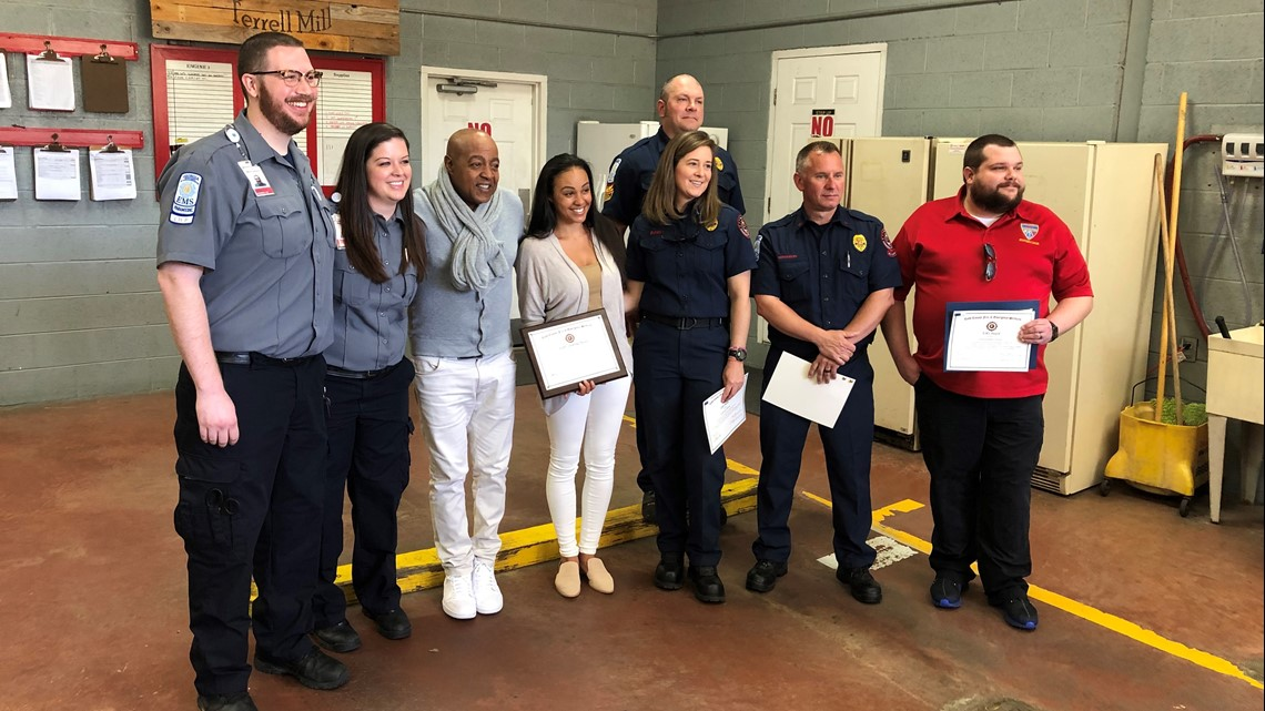 Peabo Bryson thanks first responders, doctors who saved his life after heart attack