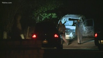 Apparent female body found in burned vehicle
