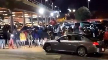 Police aware of incidents involving large crowds, fireworks, cars doing donuts in Atlanta