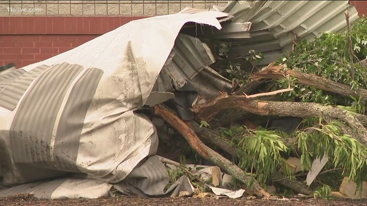 NWS confirms 4 more tornadoes hit Walton, Oglethorpe, Madison, Lumpkin counties