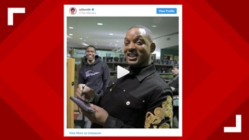 Will Smith films at Buckhead Library, learns odd lesson about vandalism