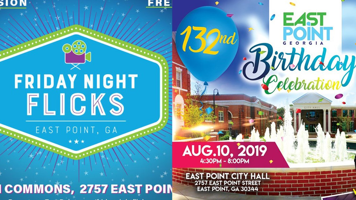 The City of East Point is poised for a big weekend