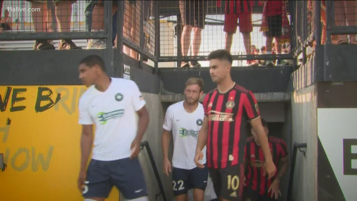 Atlanta United advances to U S  Open Cup semifinals with 2-0 win over St   Louis FC