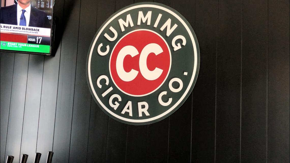 Cocktail in Cumming: Cumming Cigar Company