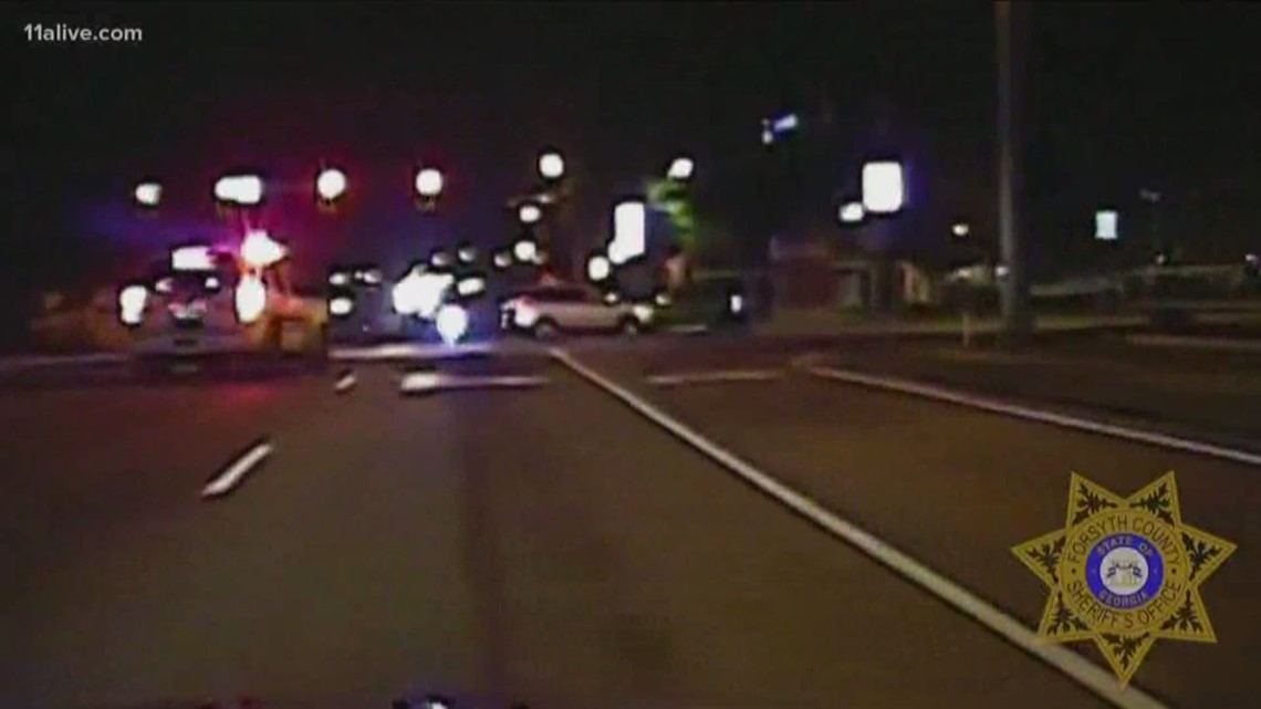 Dashcam video shows police chase that ended with 5 teens in jail