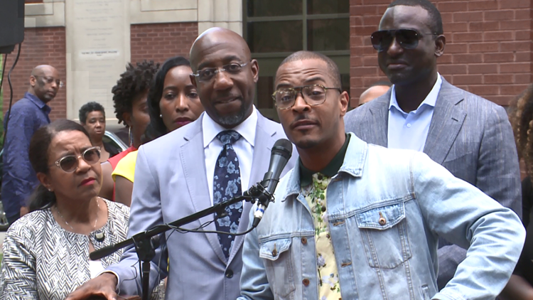 Rapper TI, Ebenezer's Pastor Raphael Warnock, more join forces to help end mass incarceration