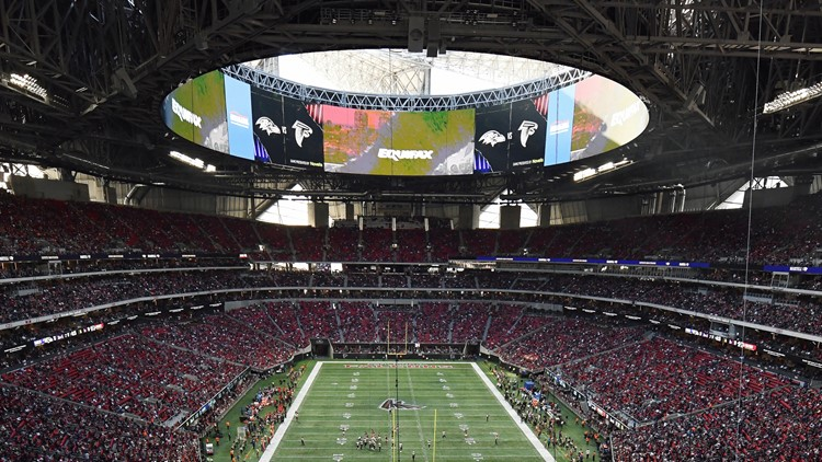 Falcons, Atlanta United games to be played without fans at Mercedes-Benz Stadium through September