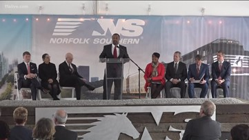 Norfolk Southern breaks ground on new Atlanta headquarters