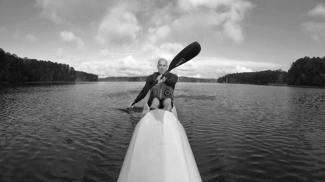Local man kayaks 400 miles along Lake Lanier shoreline