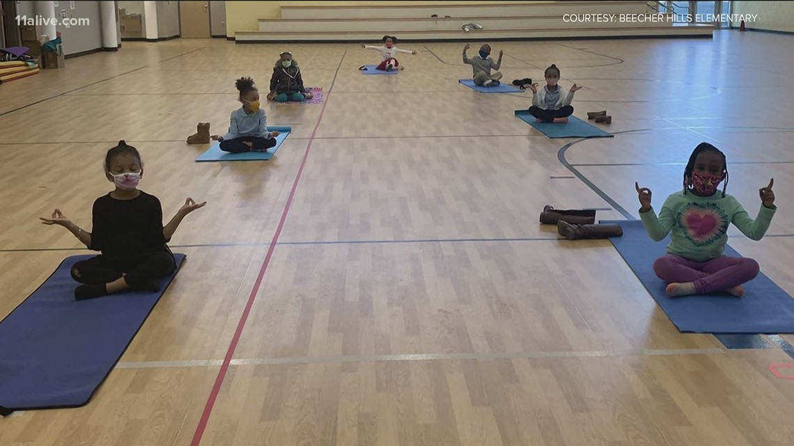 Local school using yoga to help kids