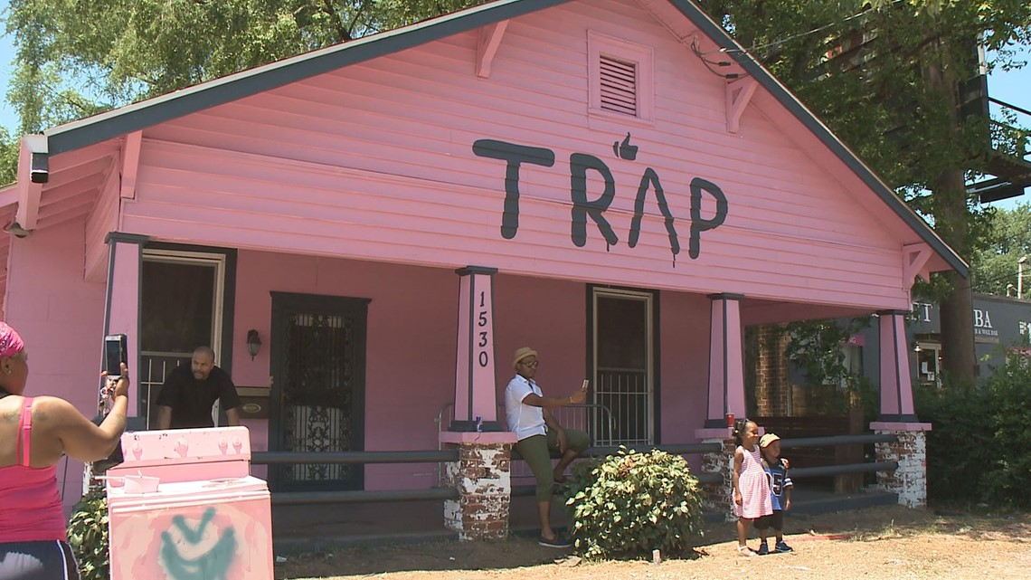 All Good Things Must Come To An End The Pink Trap House Is Pink