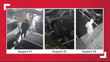 26 vehicles broken into within 2 hours at hotels, apartment complexes