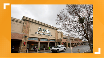 Second Publix employee in Forsyth County tests positive for COVID-19