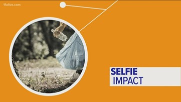 The connection between selfies and a cleaner world