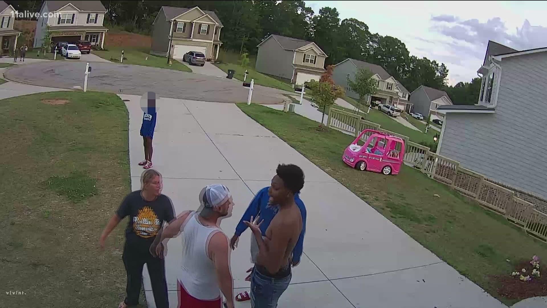 Disturbing: Man beats neighbors child with a belt 7/13/21