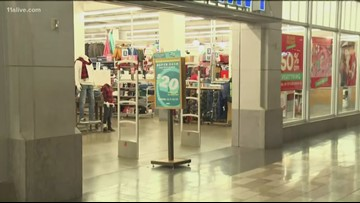 Shoppers are off and running around Atlanta on Black Friday