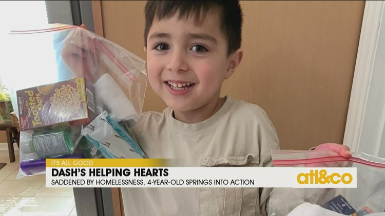 4-Year-Old Helping Homeless Population
