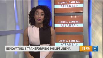 #LightsCameraAtlanta Newly Renovated Philips Arena becomes Entertainment Hub of ATL
