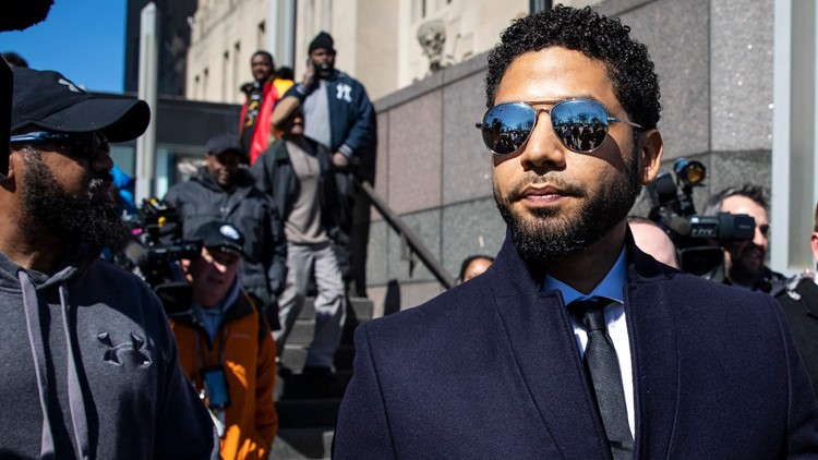 Jussie Smollett speaks after all charges are dropped, 'I am a man of faith'