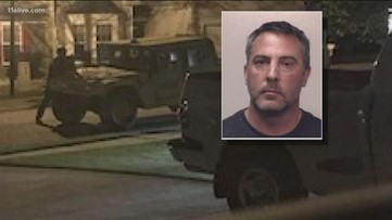 East Point police officer arrested after standoff in Newnan