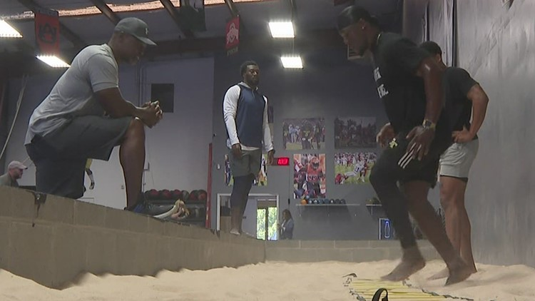 Father and son workouts lead to NFL draft
