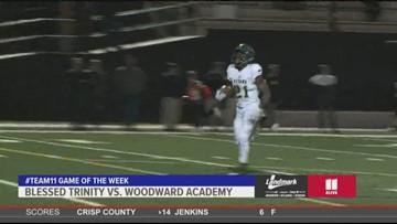 Landmark Dodge Team 11 Game of the Week: Blessed Trinity vs. Woodward Academy