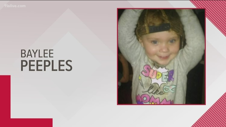 Levi's call issued for missing 1-year-old girl