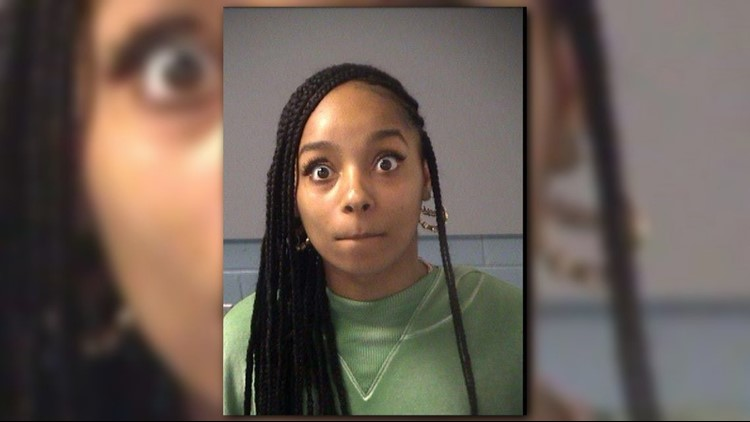 Atlanta Police arrest Stanesha Boutwell on May 24, 2018.