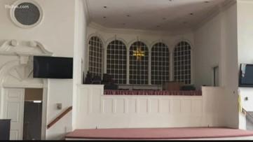 Church bids adieu to their pews