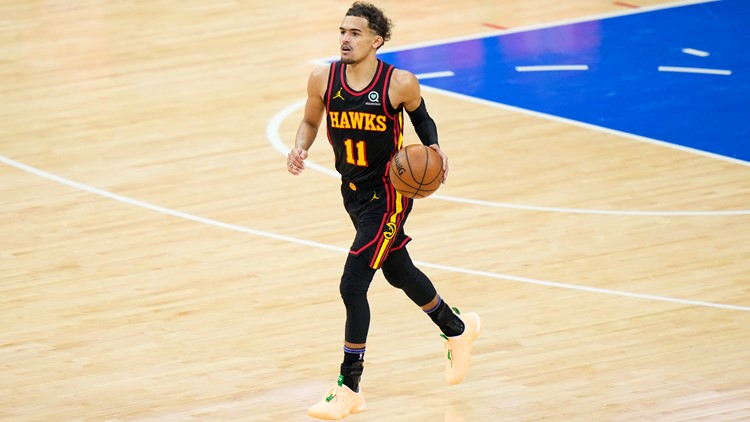 Adidas unveils Atlanta's star point guard Trae Young shoe, clothing collection