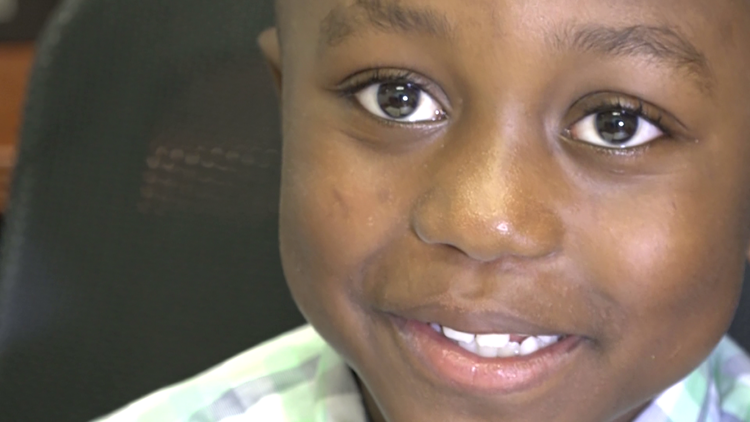 Bow ties and podcasts: 7-year-old boy balances being a kid with being an entrepreneur