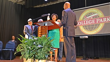 The City of College Park's history-making mayor comes from a family of trailblazers