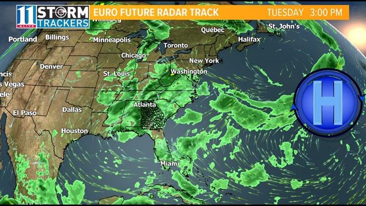 StormTrackers Weather Blog: Rainy Pattern Returns | 11alive com