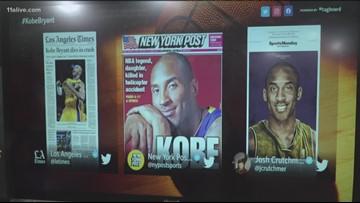 Sadness felt during the Grammy's following Kobe Bryant's shocking death, social media shocked