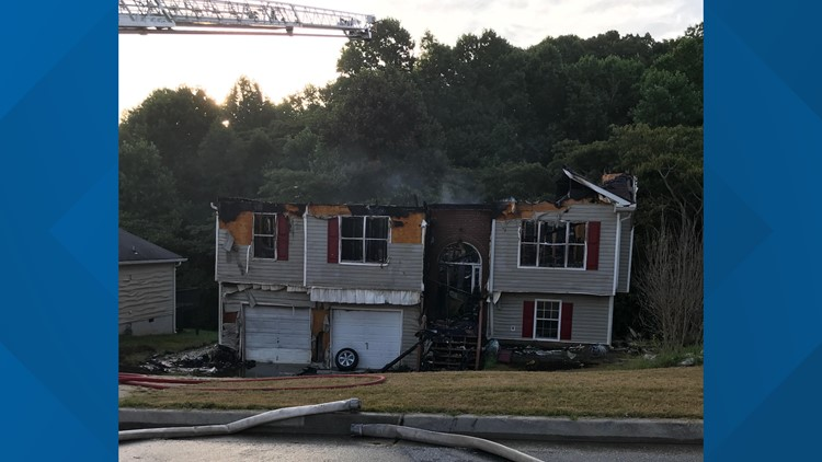 Man started house fire after domestic argument, authorities