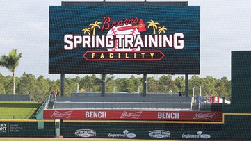 Atlanta Braves | 11Alive's exclusive tour of the club's new Spring Training home